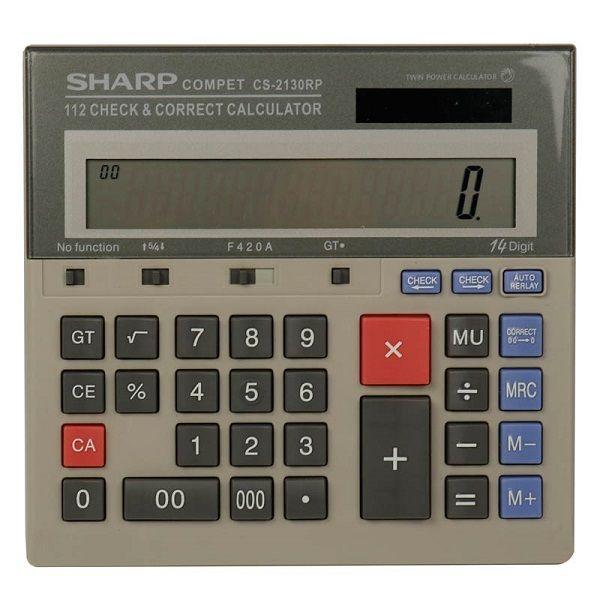 ماشین حساب شارپ مدل sharp cs-2130rp