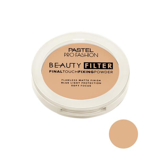 پودر تثبیت کننده آرایش پاستل مدل Beauty Filter شماره 01