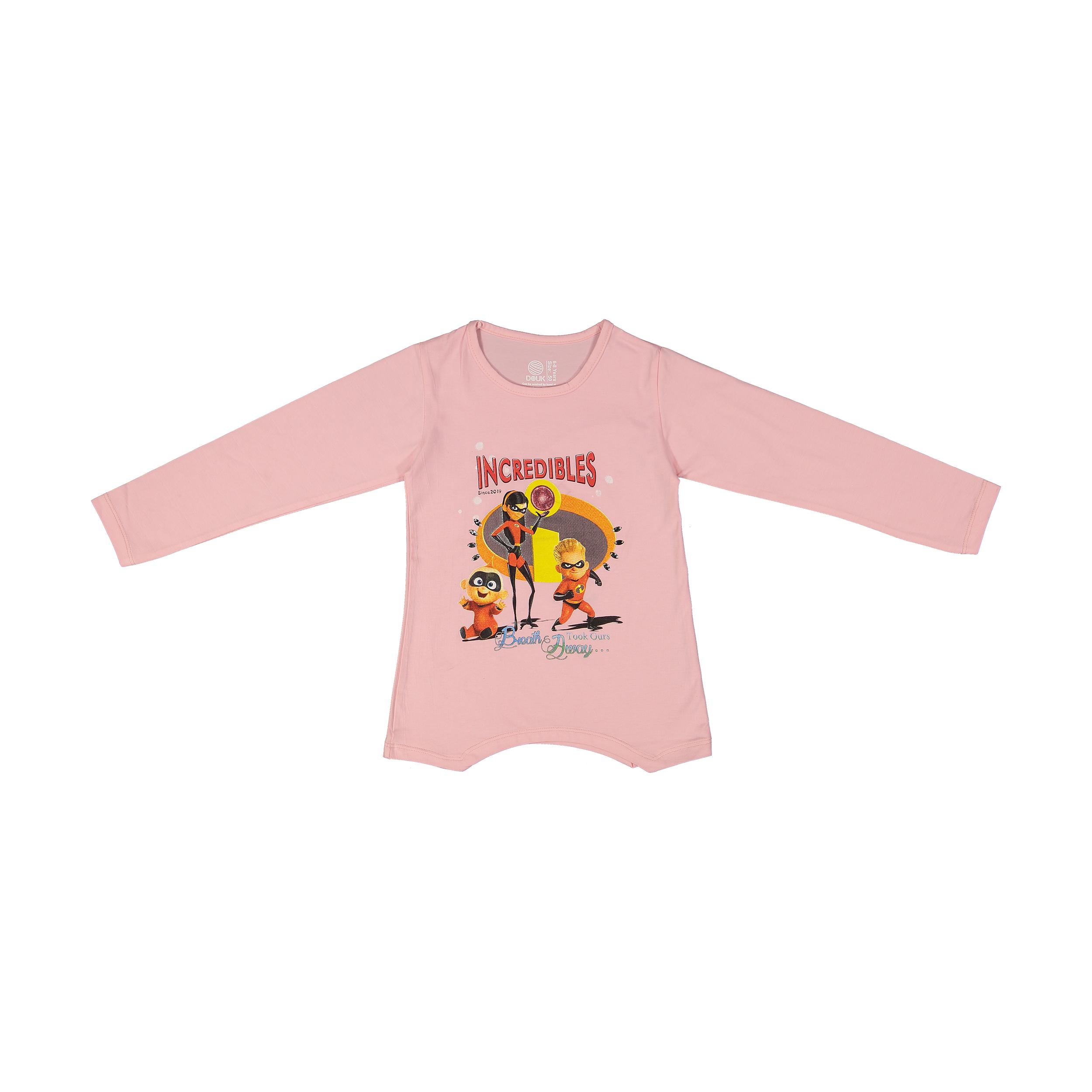 تی شرت دخترانه سون پون مدل 1391352-84 -  - 2