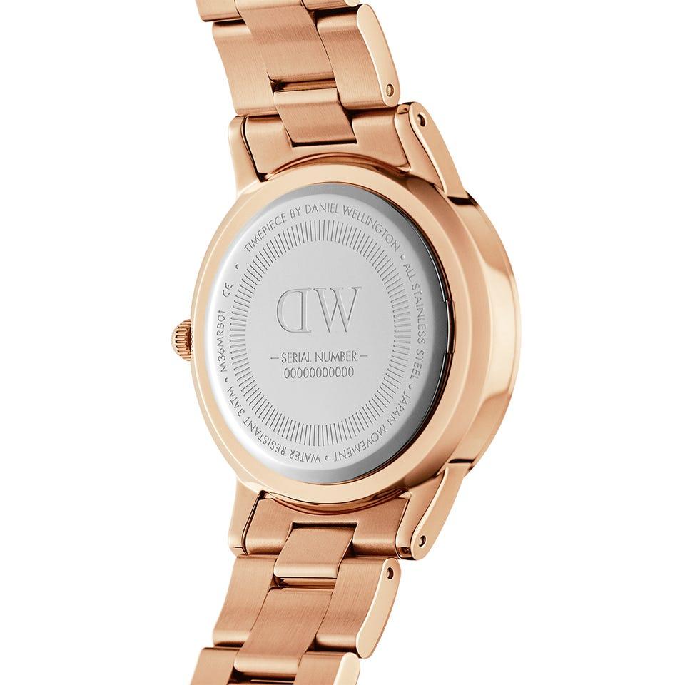 خرید و قیمت                      ساعت مچی  زنانه دنیل ولینگتون مدل ICONIC LINK