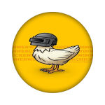 استیکر مدل اردک کد 2219
