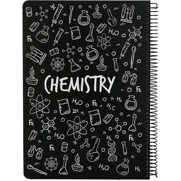 دفتر کلاسوری 100 برگ مدل شیمی
