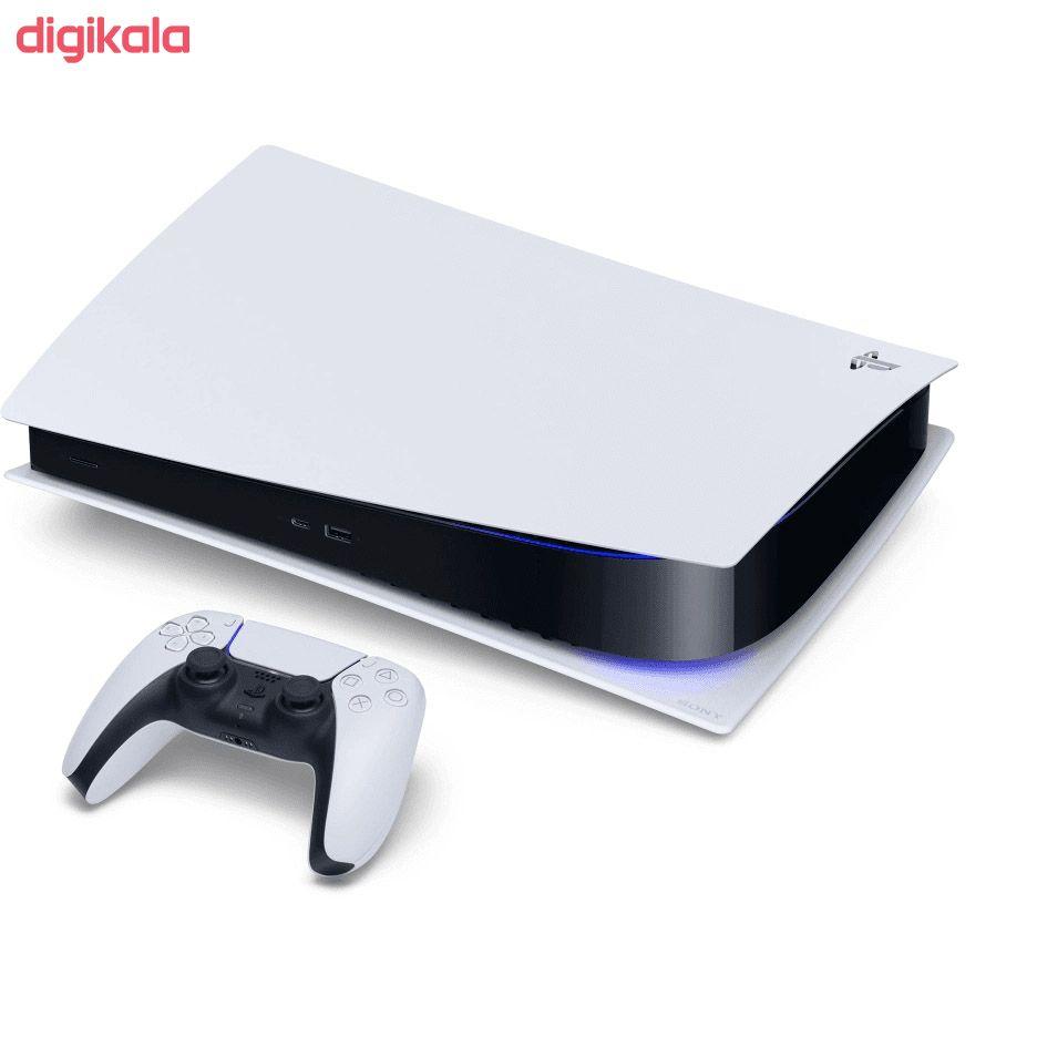 کنسول بازی سونی مدل Playstation 5 Digital Edition ظرفیت 825 گیگابایت main 1 8