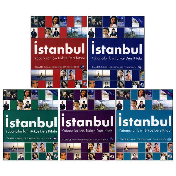 خرید                      کتاب istanbul اثر جمعی از نویسندگان انتشارات زبان مهر 5 جلدی