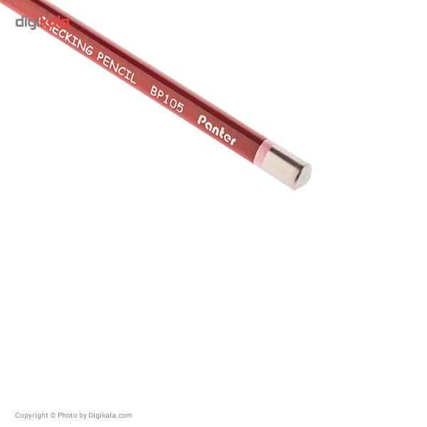 مداد قرمز پنتر مدل Checking Pencil - بسته 12 عددی main 1 4