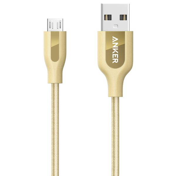 کابل تبدیل USB به MicroUSB انکر مدل A8142 PowerLine Plus به طول 0.9 متر
