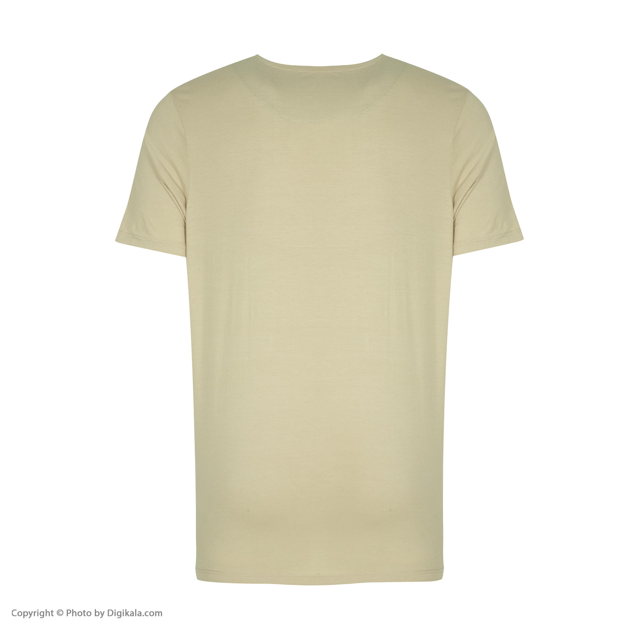 ست تی شرت و شلوارک راحتی مردانه مادر مدل 2041106-07 -  - 6