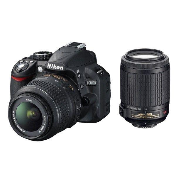 دوربین دیجیتال نیکون دی 3100 کیت دو لنز 18-55 و 55-300