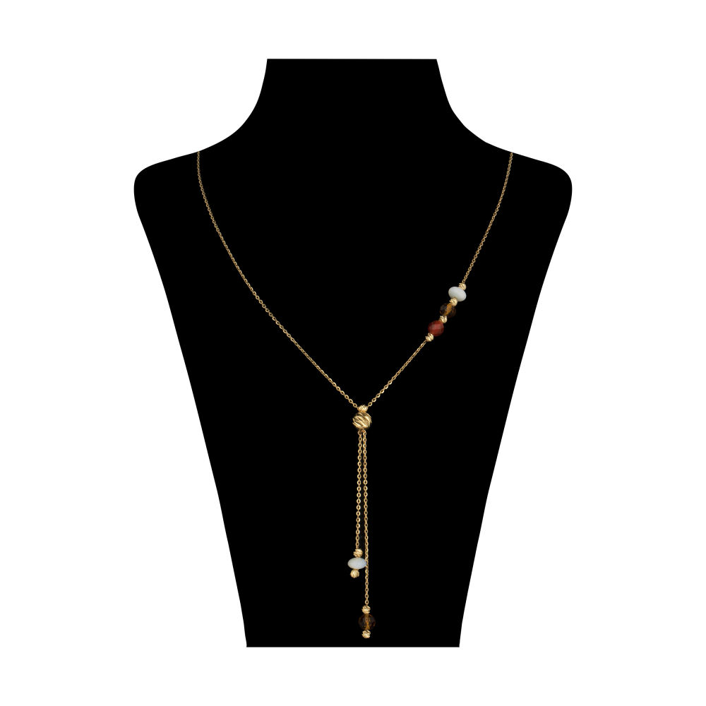 گردنبند طلا 18 عیار زنانه سیودو مدل 145816