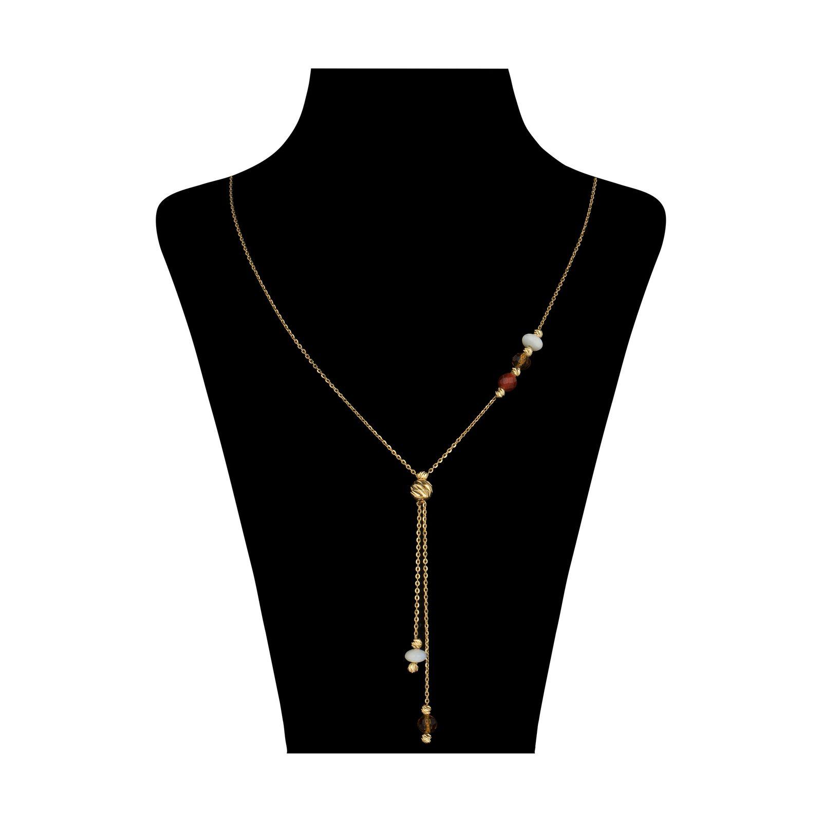 گردنبند طلا 18 عیار زنانه سیودو مدل 145816 -  - 2