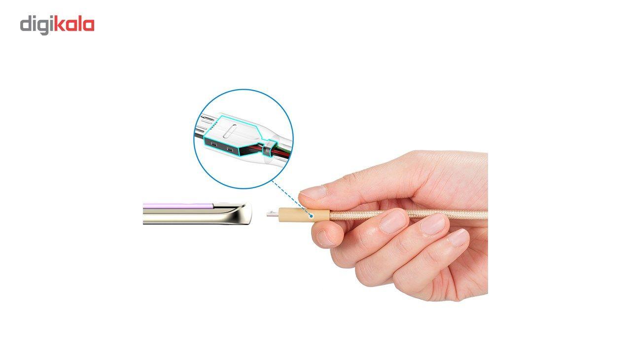 کابل تبدیل USB به MicroUSB انکر مدل A8142 PowerLine Plus به طول 0.9 متر main 1 4