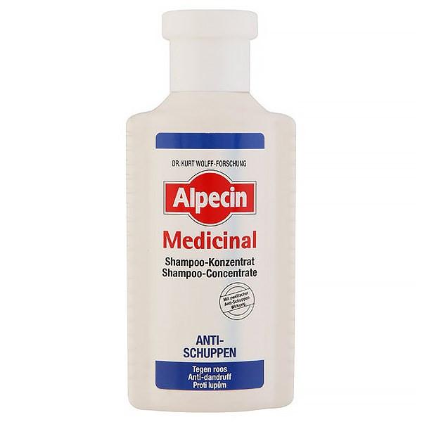 شامپو ضد شوره آلپسین مدل مدیسینال حجم 200 میلی لیتر