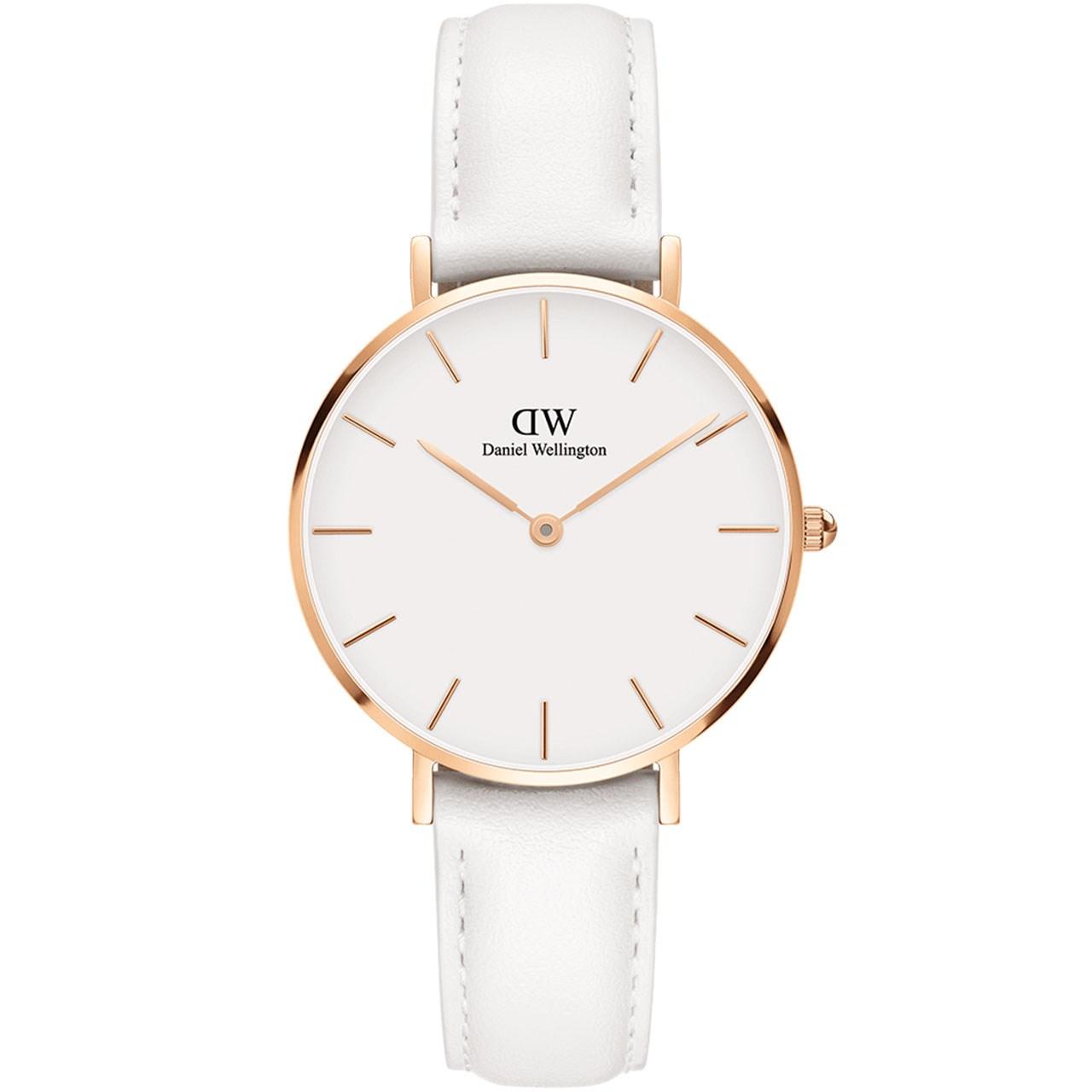 ساعت مچی عقربه ای زنانه دنیل ولینگتون مدل DW00100189