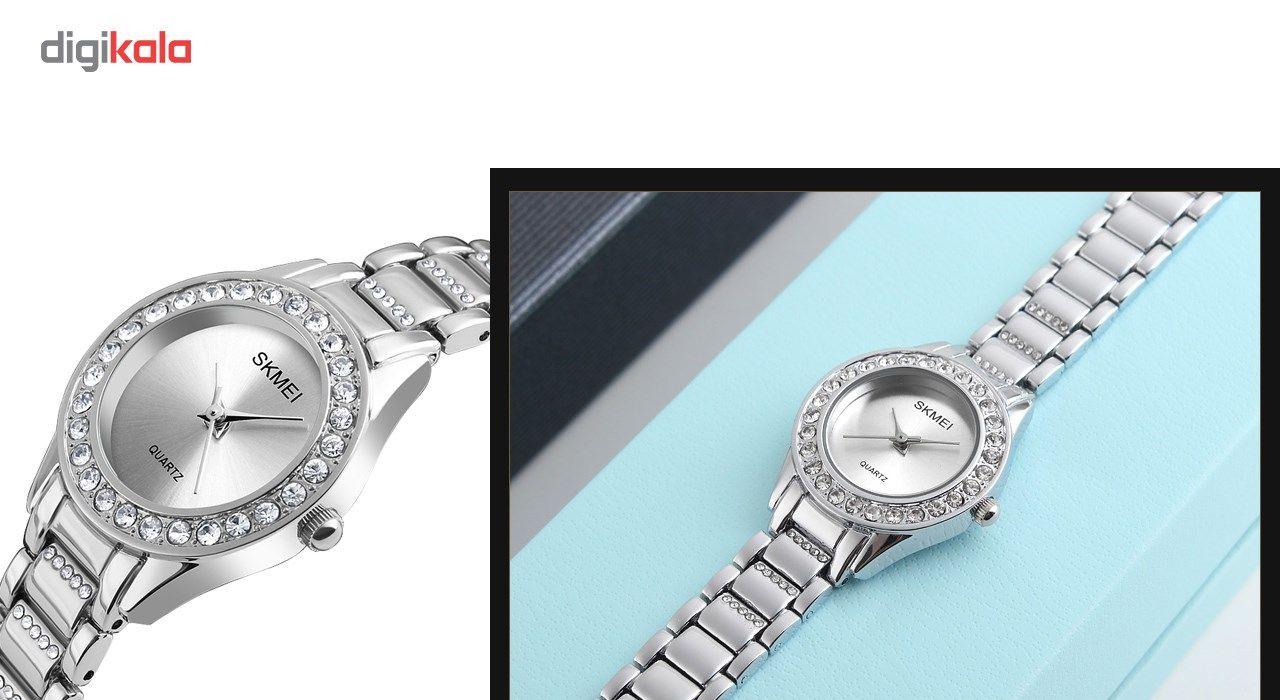 ساعت مچی عقربه ای زنانه اسکمی مدل 1262 کد 02 -  - 3