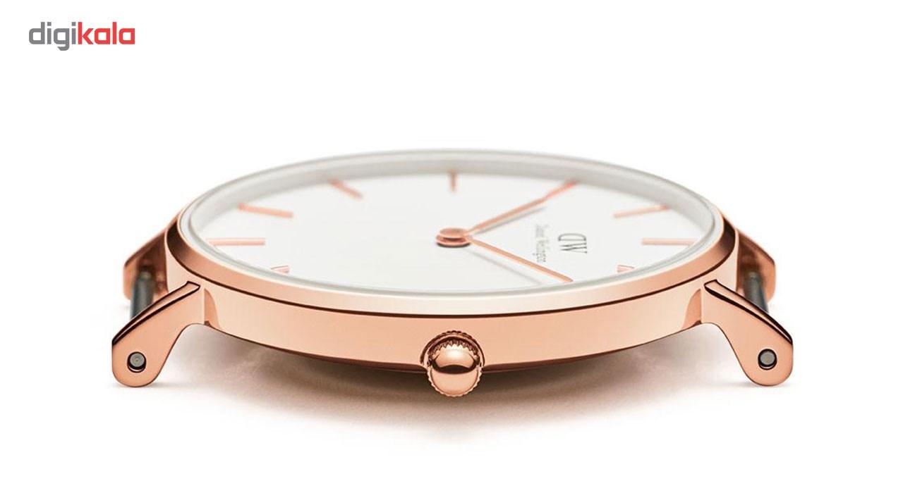 ساعت مچی عقربه ای زنانه دنیل ولینگتون مدل DW00100189              خرید (⭐️⭐️⭐️)