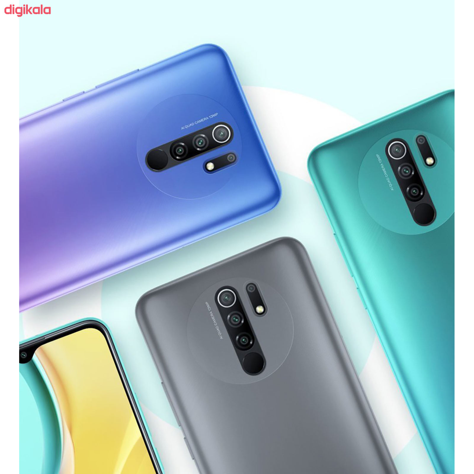 گوشی موبایل شیائومی مدل Redmi 9 M2004J19G دو سیم کارت ظرفیت 32 گیگابایت main 1 13