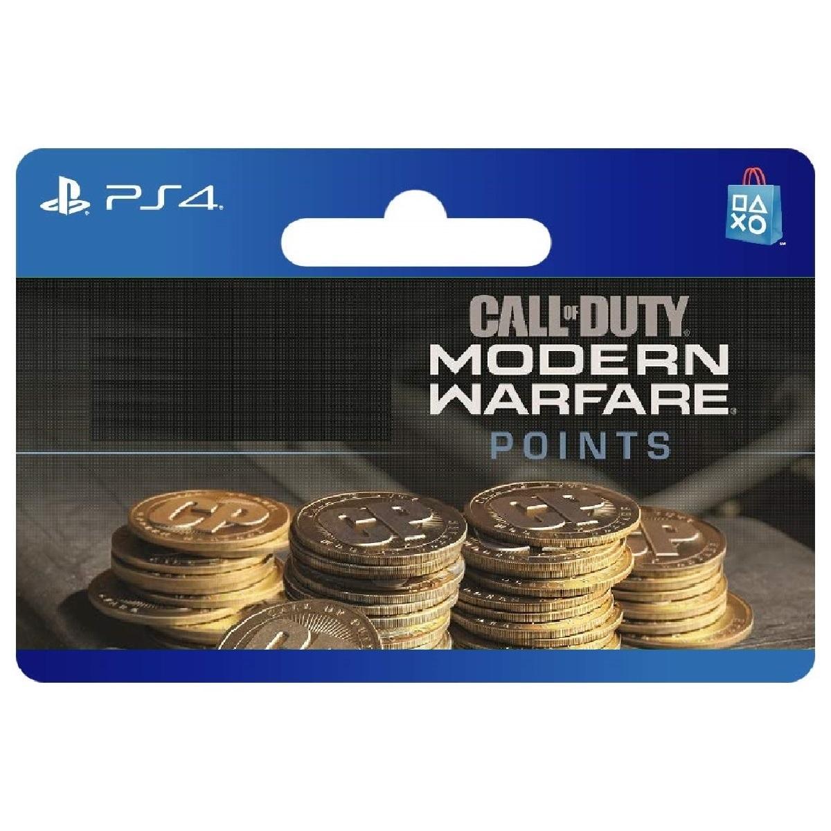 گیفت کارت 500 امتیازی مدل Modern Warfare 500 PS