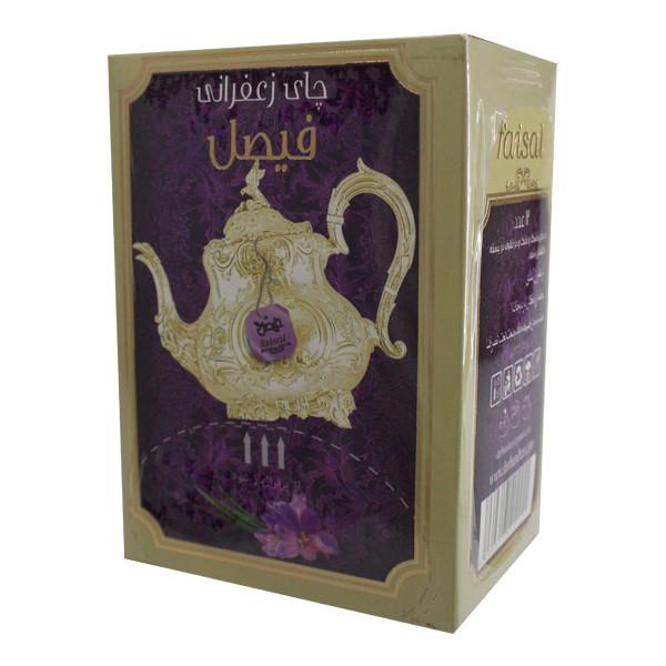 چای سیاه زعفرانی فیصل - 18گرم