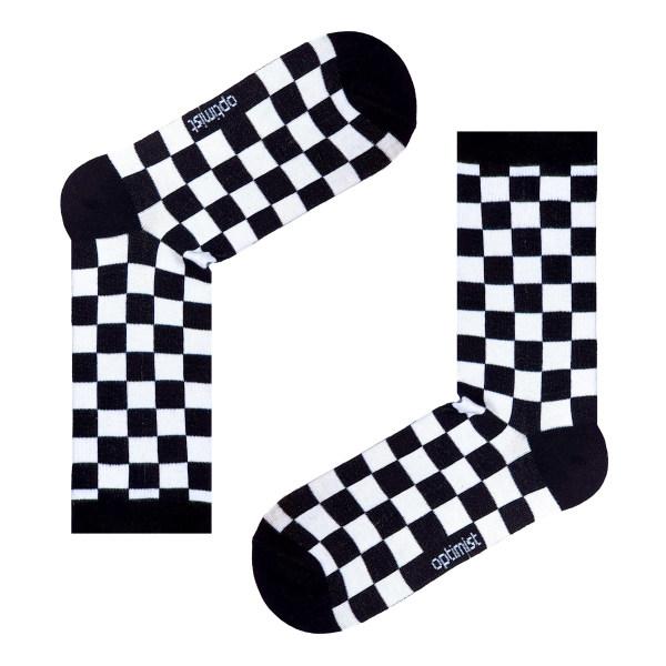 جوراب زنانه آپتمیست مدل شطرنجی