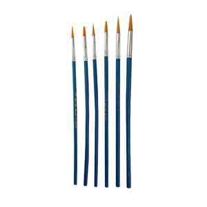 قلم مو گرد کد 01 مجموعه 6 عددی