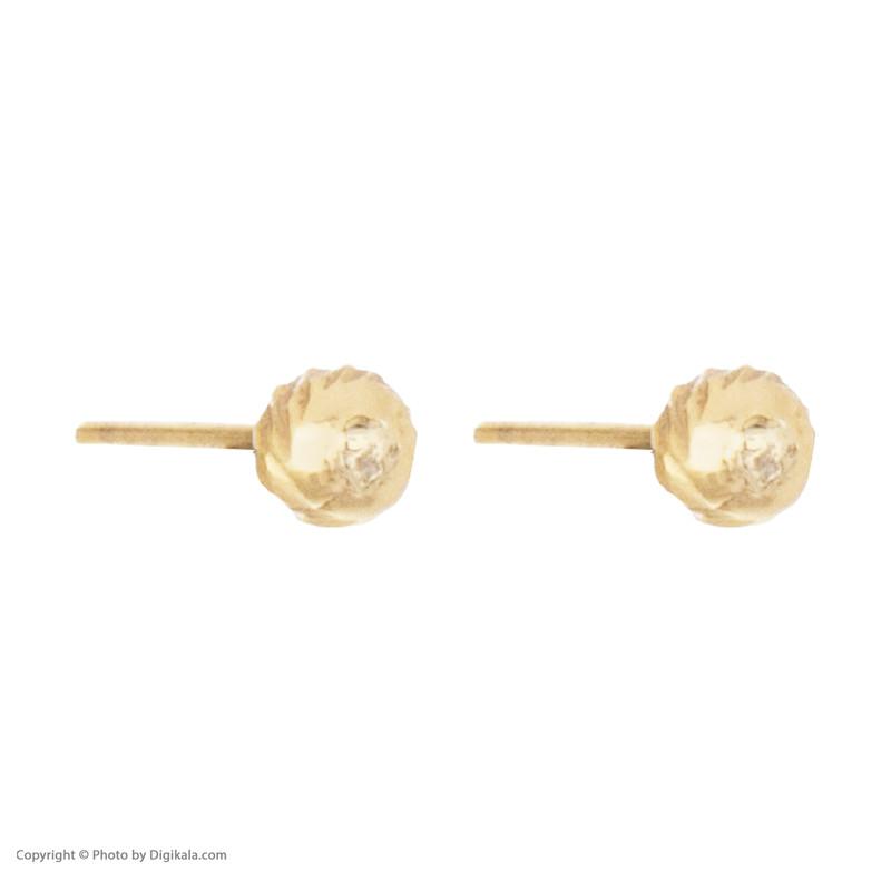 گوشواره طلا 18 عیار زنانه مایا ماهک مدل ME0864