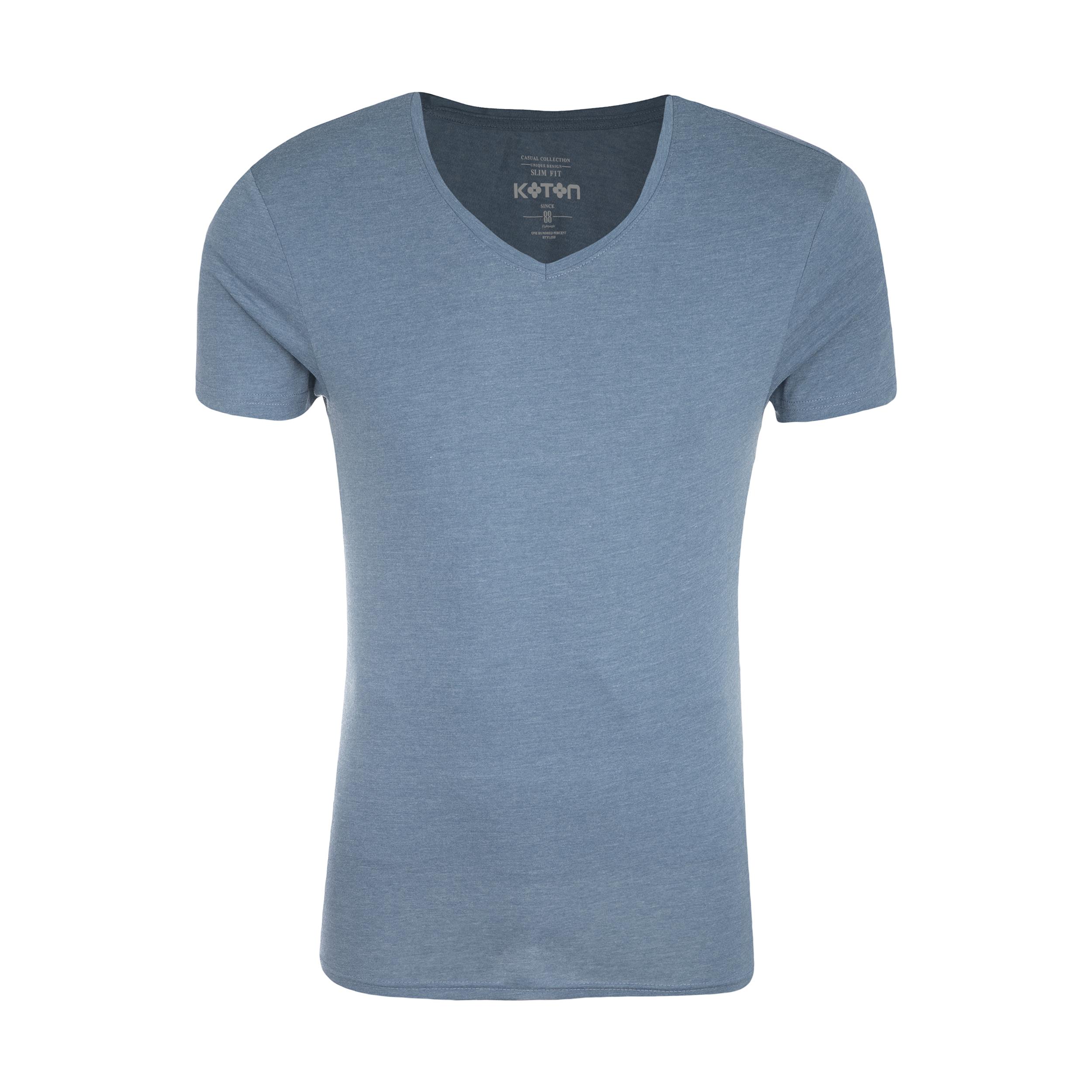 تی شرت مردانه کوتون مدل 8YAM15324LK-602