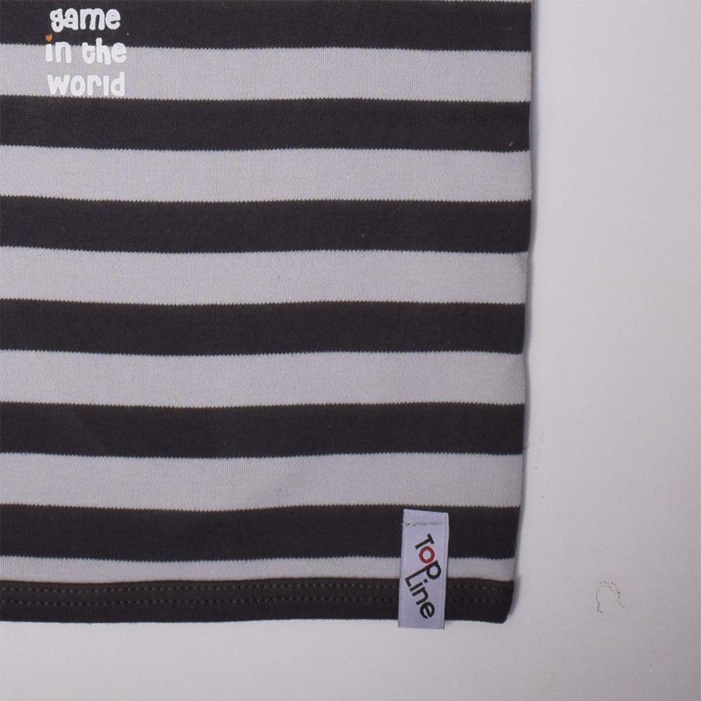 تی شرت آستین کوتاه نوزادی تاپ لاین مدل راگبی کد 002SR-1