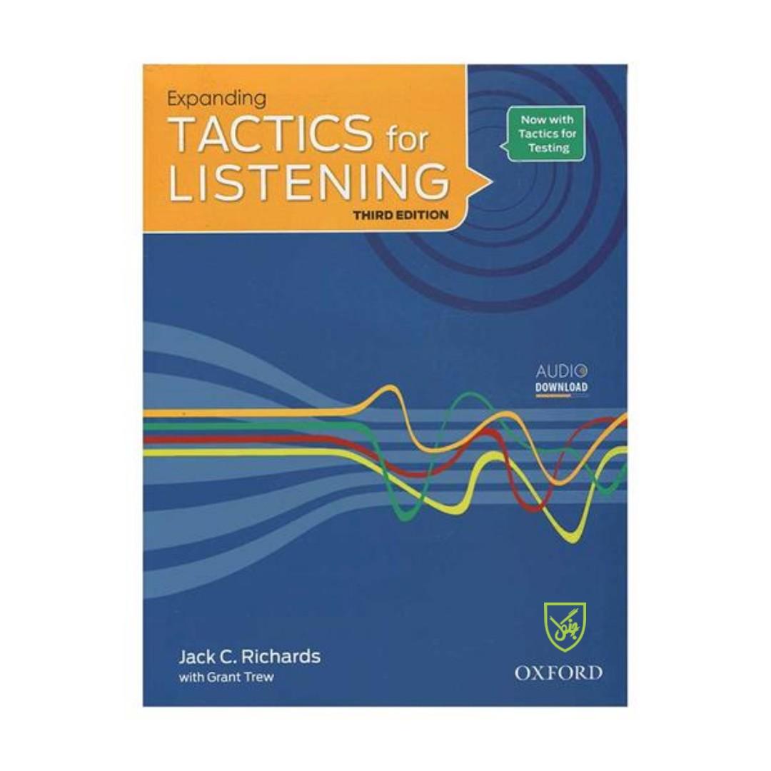 کتاب Tactics for Listening 3rd expanding اثر Jack C. Richards انتشارات جنگل