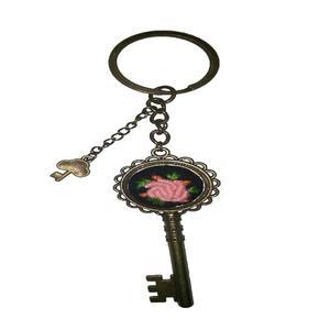 جاکلیدی دخترانه مدل گلدوزی کلید