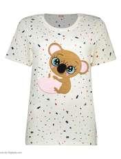 ست تی شرت و شلوارک راحتی زنانه مادر مدل 2041103-66 -  - 3