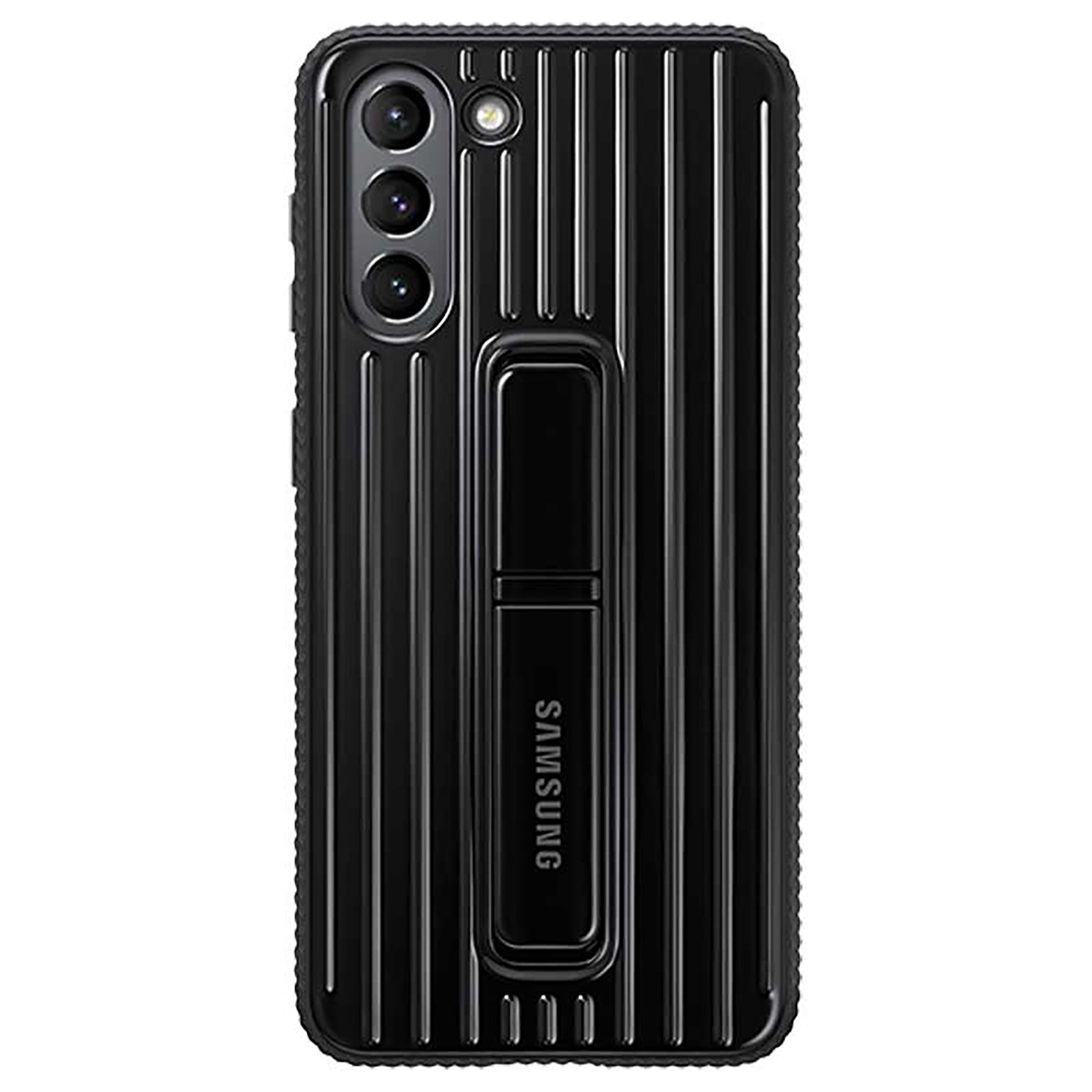 بررسی و {خرید با تخفیف} کاور سامسونگ مدل Protective Standing مناسب برای گوشی موبایل سامسونگ Galaxy S21 Plus اصل