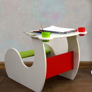میز تحریر کودک مدل خرسی