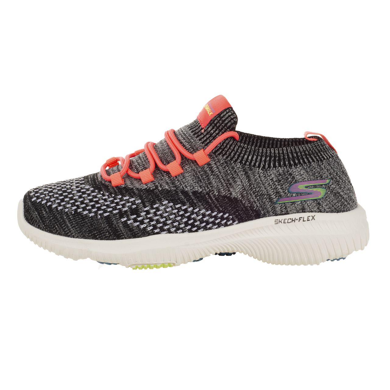 کفش پیاده روی زنانه اسکچرز مدلFLEX BLKRD-1050060