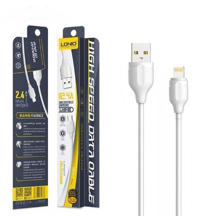 کابل تبدیل USB به لاتنینگ الدینیو مدل LS38 طول 0.3 متر