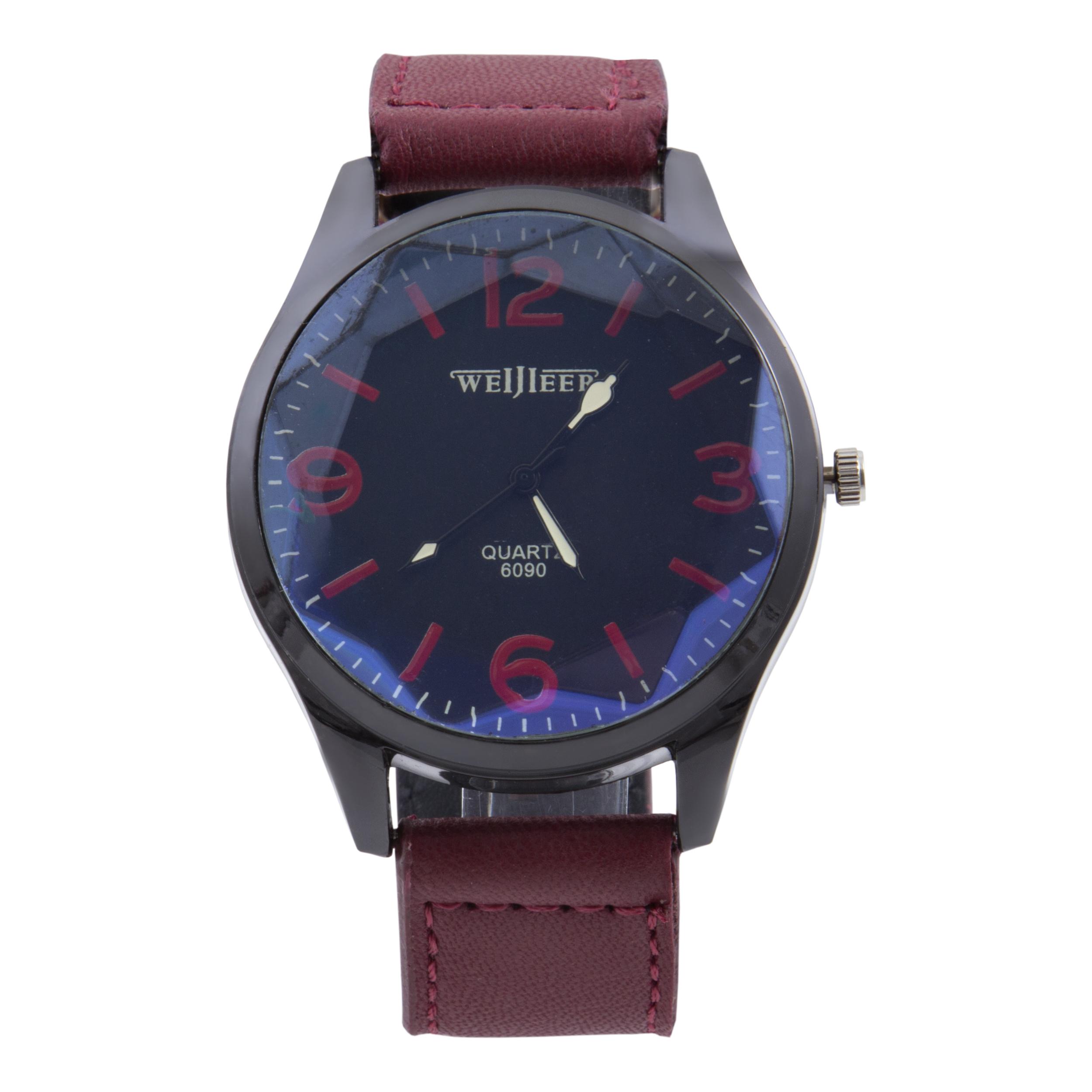 قیمت                        ساعت مچی عقربه ای مردانه کد WHM_100