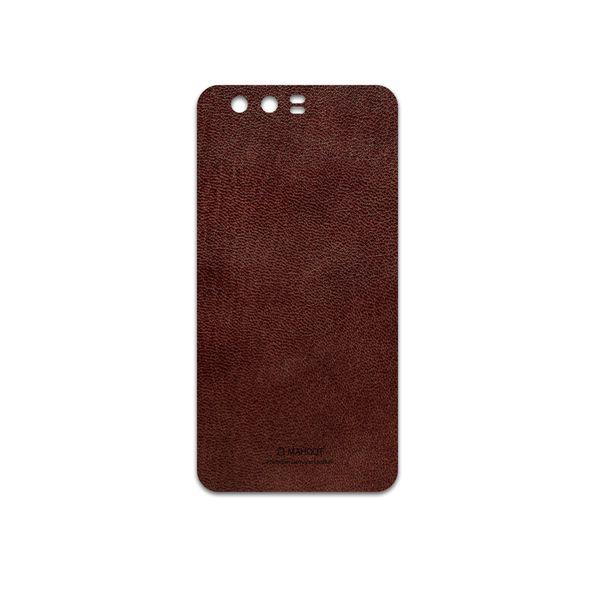 برچسب پوششی ماهوت مدل Natural-Leather مناسب برای گوشی موبایل آنر 9