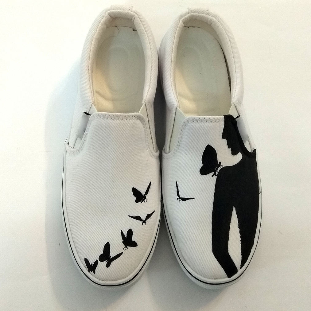 کفش روزمره زنانه دالاوین طرح پروانه کد V-30 -  - 4