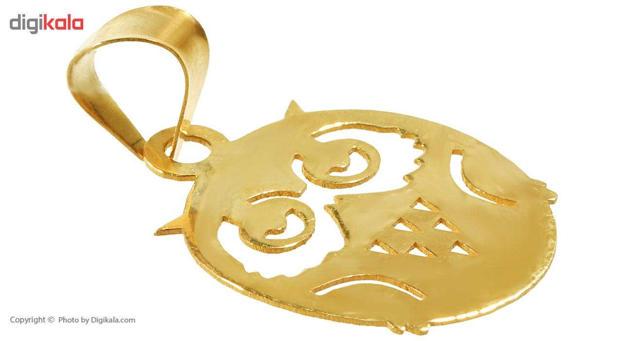 نیم ست طلا 18 عیار ماهک مدل MS0048 - مایا ماهک main 1 3