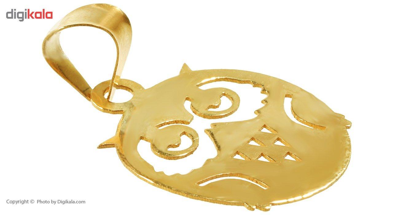 نیم ست طلا 18 عیار ماهک مدل MS0048 - مایا ماهک -  - 3