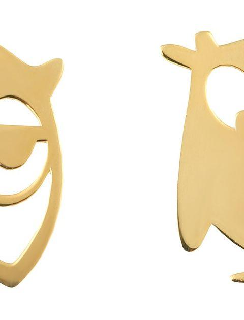 نیم ست طلا 18 عیار ماهک مدل MS0048 - مایا ماهک -  - 5