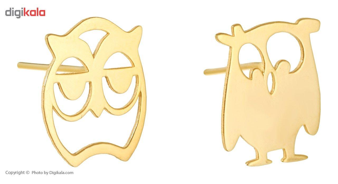 نیم ست طلا 18 عیار ماهک مدل MS0048 - مایا ماهک main 1 5