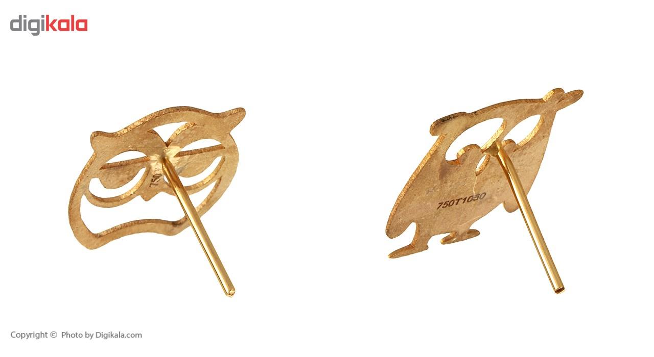 نیم ست طلا 18 عیار ماهک مدل MS0048 - مایا ماهک -  - 4