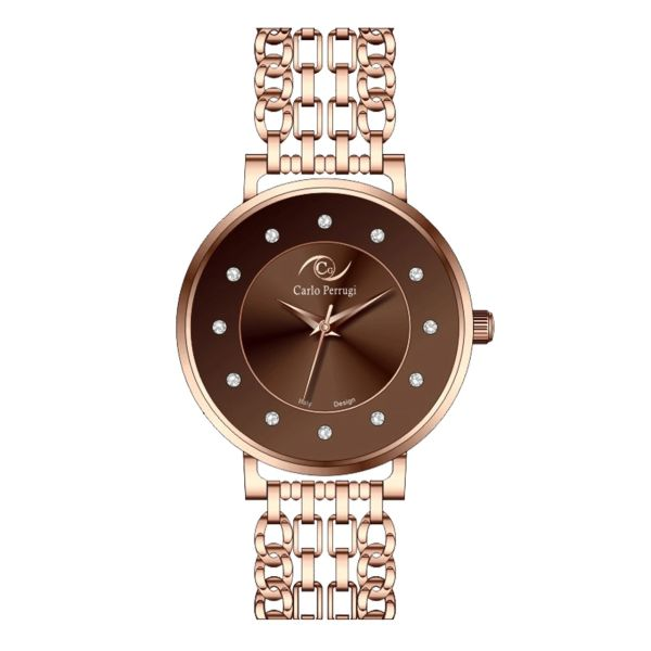 ساعت مچی عقربه ای زنانه کارلو پروجی مدل CG2035-3