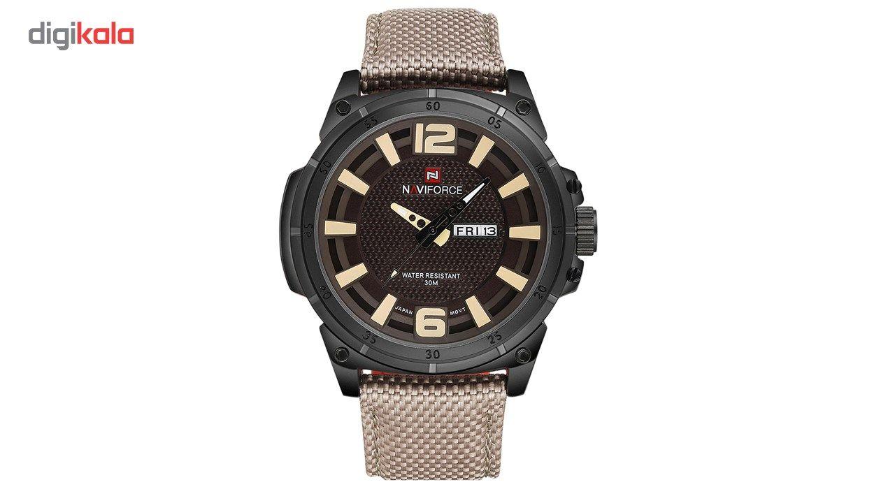 ساعت مچی عقربه ای مردانه نیوی فورس مدل NF9066M/BBY