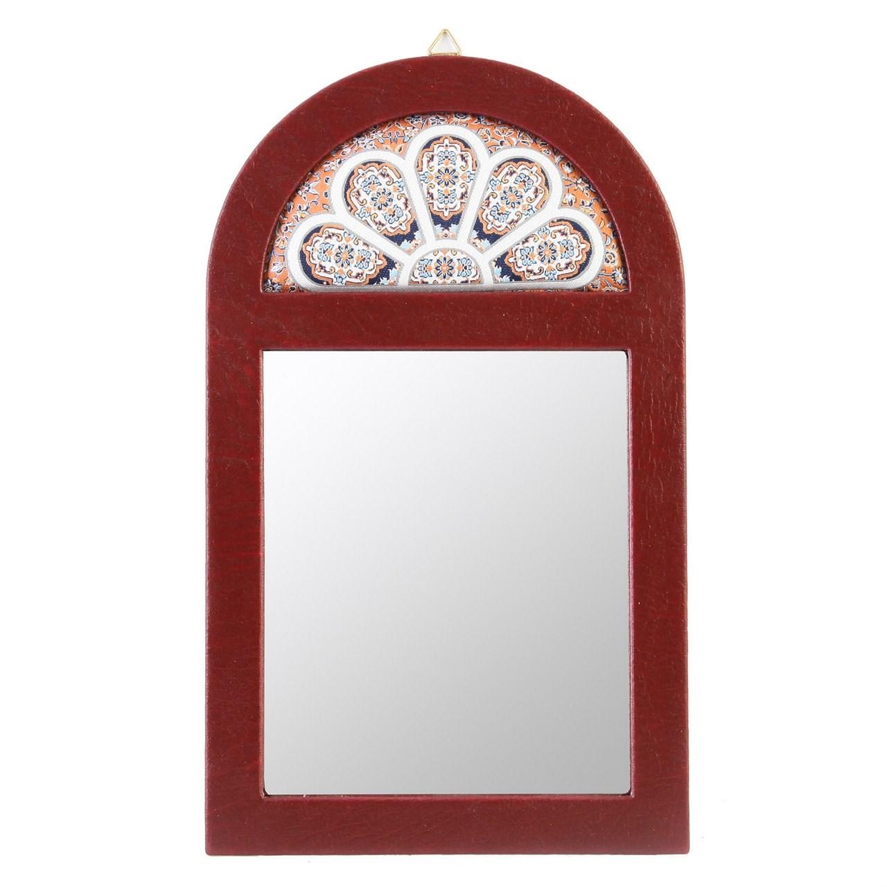 خرید                      آینه طهرانی طرح محرابی کد 191017