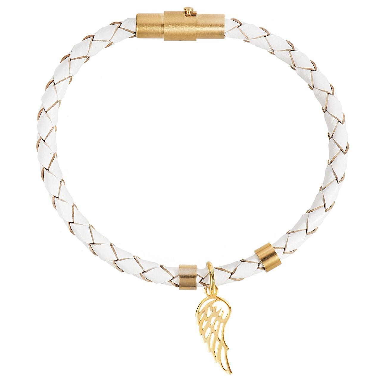 دستبند طلا 18 عیار رزا مدل BW113