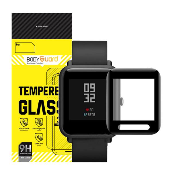 محافظ صفحه نمایش بادیگارد مدل PMMA مناسب برای ساعت هوشمند شیائومی Huami Amazfit Bip