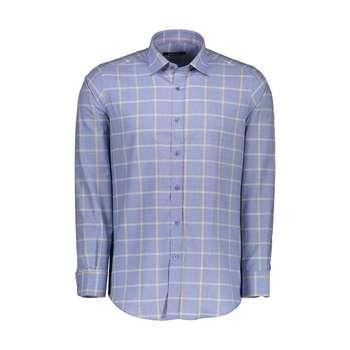 پیراهن آستین بلند مردانه کیکی رایکی مدل MBB2400-016