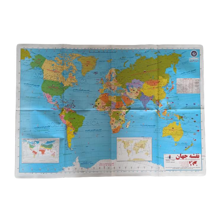 نقشه جهان کد HT02