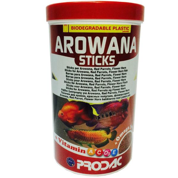 غذای ماهی پروداک مدل Arowana Sticks وزن 450 گرم
